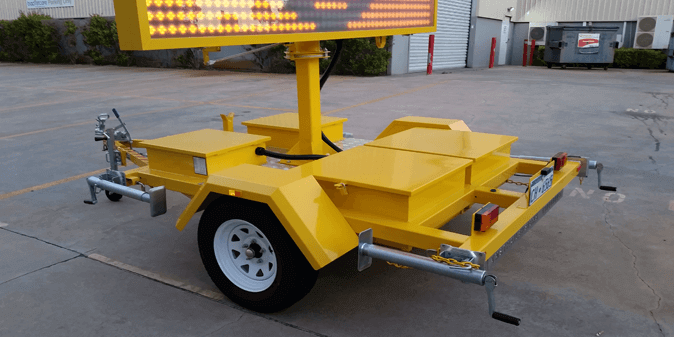 LED VMS Trailer Signs