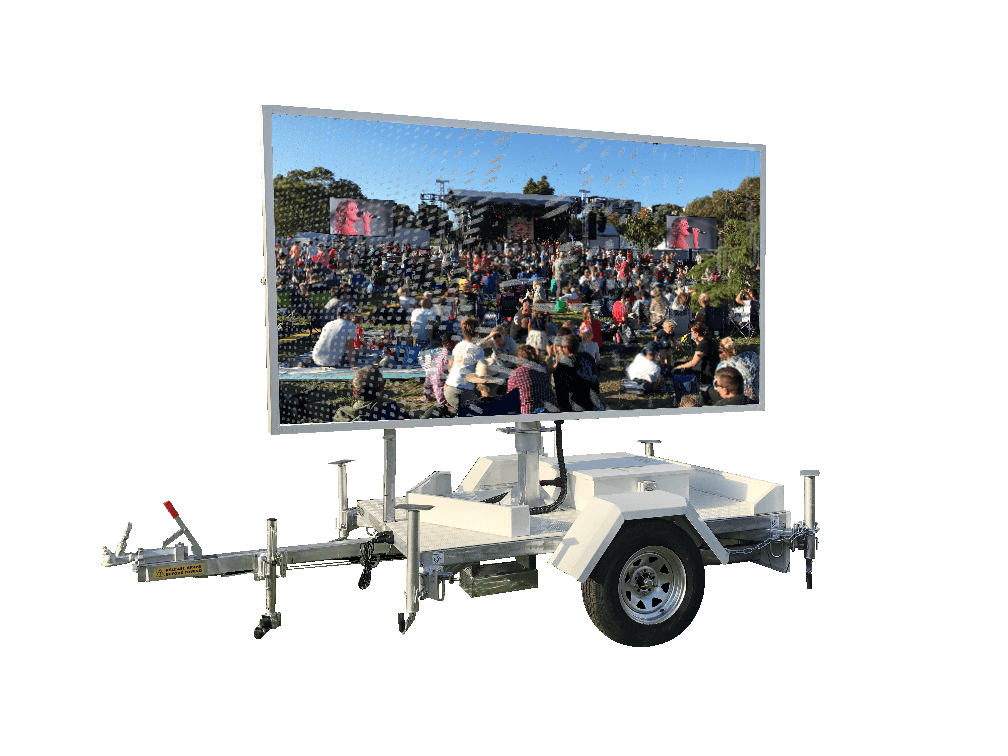 New P6 LED Video Trailers