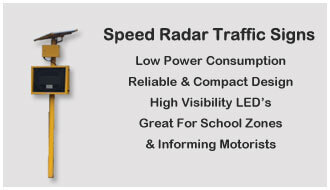 Speed Radar Signs